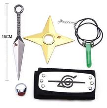 Naruto Kunai Cosplay Items 5Pcs Lot Naruto Weapon Set