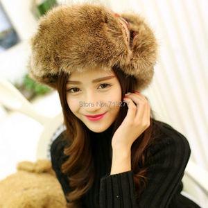 Image 3 - 2017 Winter Warm Trapper Hat Earflap Earmuffs Caps Winter Women Aviator Hat Thicken Ear Protection Bomber Hat Colored Bomber