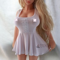 Athemis Bayby Doll Clothing White Sexy Dress Sleeveless Custom Made