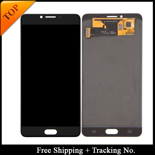 100 tested Super AMOLED For Samsung C9 LCD Galaxy C9 PRO C9000 Display LCD Screen Touch