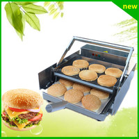 18 free ship new premium fast food equipment commercial package double grilled hamburger machine price