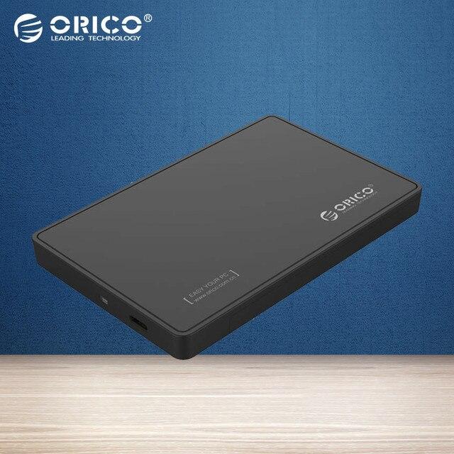 ORICO 2.5 SATA3.0 Hdd USB 3.0 Type-c Коробка Жесткий Диск [UASP Поддержка и 2 ТБ 9.5 мм HDD и SSD]-Черный 2588C3