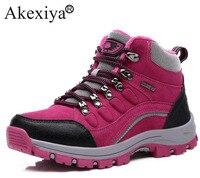 Akexiya; женские зимние ботинки для пешего туризма; обувь для походов и скалолазания; женские кроссовки; дышащие ботинки для горной ходьбы; тепл...