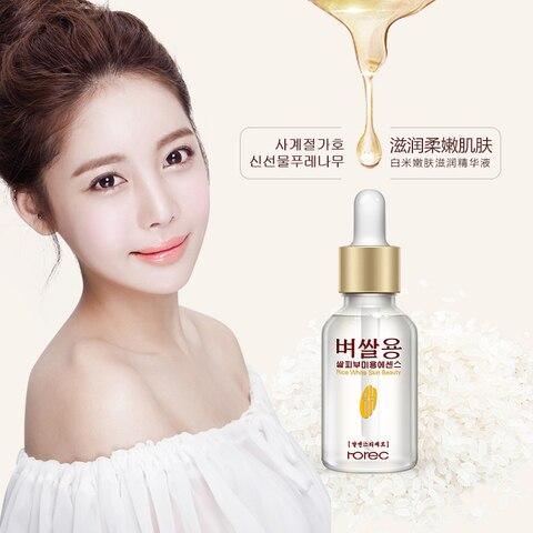 ROREC Pure Rice Face Serum Whitening Serum For Facial  Moisturizing Acne Treatment Anti Aging Liquid Skin Care Face Serum Cream Islamabad