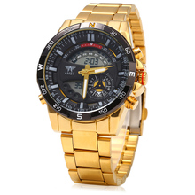 Watches Men Business Gold Plated Man Wristwatch New Clock
