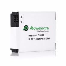 Powerextra AHDBT 301/201 1400mAh Replacement Digital 3.7v Battery For GoPro HD Hero2 Hero 2 HD Hero 960 Camera free shipping