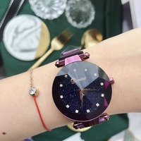 W180858 новый швейцария Для женщин часы Роскошные модные Кварцевые наручные часы Для женщин часы Водонепроницаемость круглые часы
