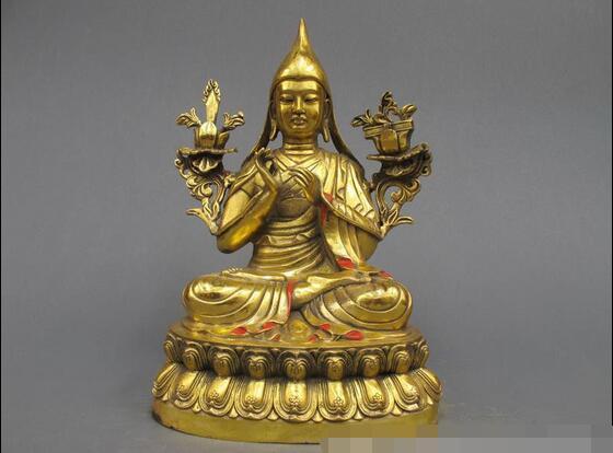 12 Tibet Tibet Budizmi Rafine Bronz tezhip Tsongkhaba Tantrik Buda Heykeli12 Tibet Tibet Budizmi Rafine Bronz tezhip Tsongkhaba Tantrik Buda Heykeli