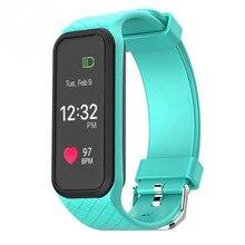 Bluetooth умный браслет l38i браслет динамические пульса полноцветный экран шагомер фитнес-трекер smart watch alarm clock
