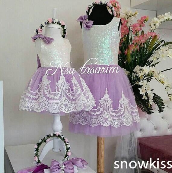 2016 new bling sequin hot pink flower girl dresses with bow baby birthday glitz party dress beauty pageant dresses ball gowns Cute Knee-Length Bling Sequin and White Lace flower girl dresses with Bow baby Birthday Party Dress wedding occasion ball gowns