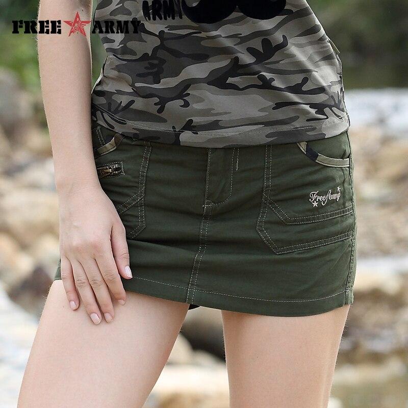 Suknje za suknje za žene Ljeto Novi dolazak patentni zatvarač Moda - Ženska odjeća - Foto 6