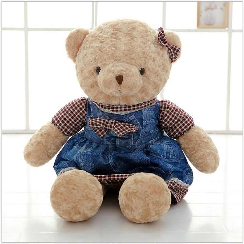 50 см высокого качества милый плюшевый мишка большие плюшевые игрушки мягкие животные детские игрушки творческие подарки на день Святого Валентина день рождения