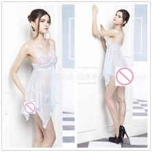 Sexy Lingerie Hot Erotic Underwear Costumes Latex Clothings New Clothes Women Summer Babydoll