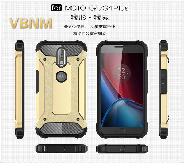 VBNM Case for moto g4 play TPU Anti-knock for moto g4 plus Case 360 Full Protection Luxury PC Phone Case for moto g4 Glossy