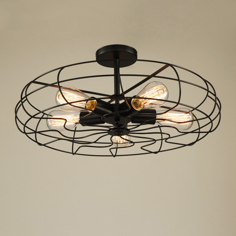 Retro Vintage Industry American Country Fan Edison Ceiling Plate Light Balcony Kitchen Dinning Room Modern Home Decor Lighting lustre vintage industry american country loft edison ceiling lamp kitchen dinning living room modern home decor lighting fixture