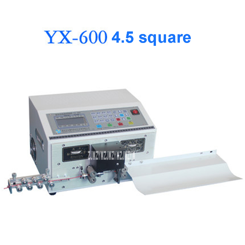 YX-600 Computer Wire Stripping Machine Electric Wire Stripper Automatic Cable Stripping Machine 110V/220V 200W 0.1-4.5 Square цена