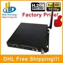 DHL Livraison Gratuite HDMI + CVBS/BNC Wifi/Sans Fil Vidéo Audio Codeur H.264 Matériel Pour IPTV, Live Streaming