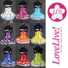 9 Members Love Live Cyber Idolized LED Gaming Awaken Minami Kotori Uniforms Nico Maki Eli Cosplay Costume With Light LoveLive