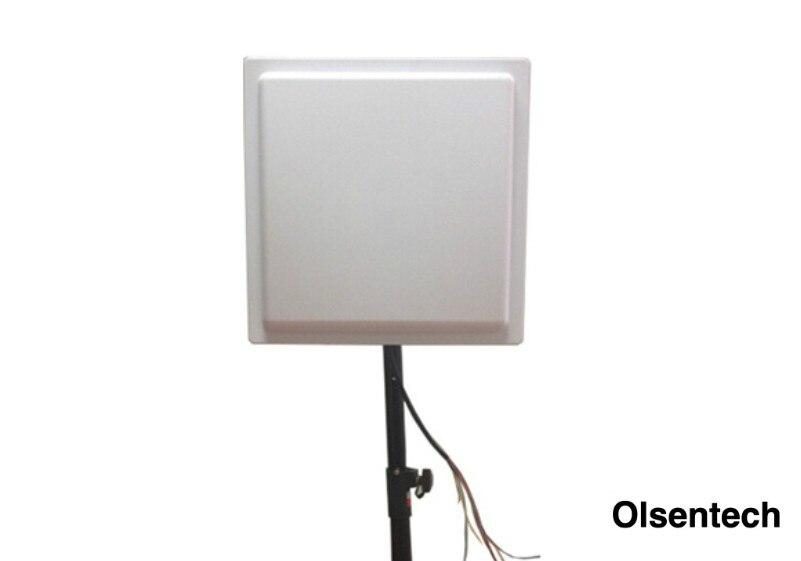 15M UHF RFID Reader Long Range RFID Passive Reader For Parking System Free SDK And Software