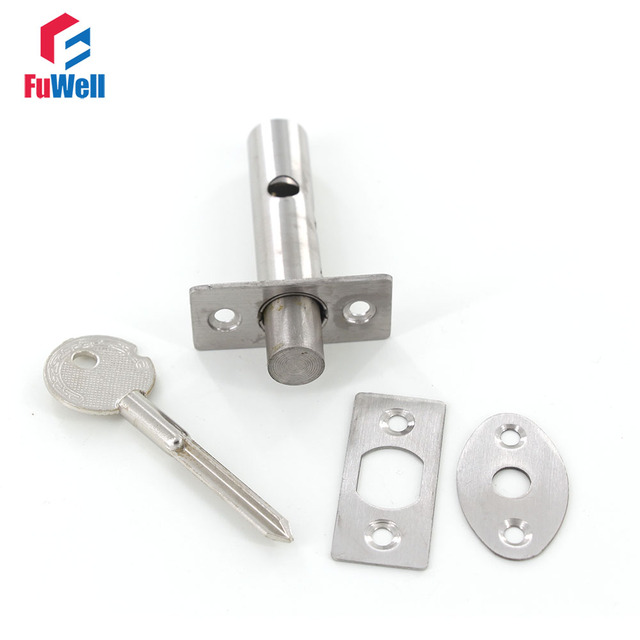 Stainless Steel Channel Lock Invisible Fire Door Locks