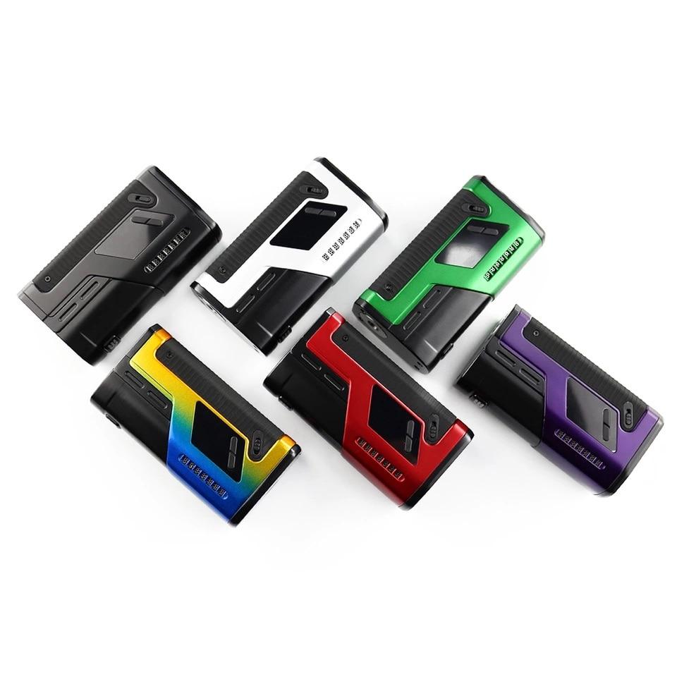 Original DOVPO VEE VV boîte MOD avec LED indicateur de niveau de batterie et VV Mode forme 1.0 V à 8.0 V pas 18650 batterie e-cig plus sûr VV Mod