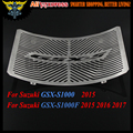 For SUZUKI GSX-S1000 2015 GSX-S1000F 2015 2016 2017 GSX S 1000 F Aftermarket Radiator Grille Grills Guard Cover Protector