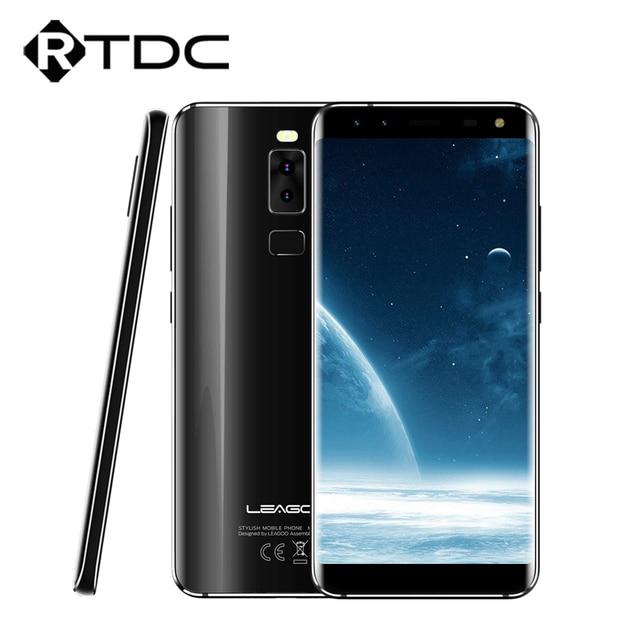 Original Leagoo S8 Mobile Phone 5.7'' MT6750T Octa Core Android 7.0 3GB RAM 32GB ROM Dual Back & Dual Front Cameras Fingerprint