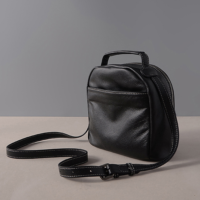 SIKU genuine leather  women bag handmade women