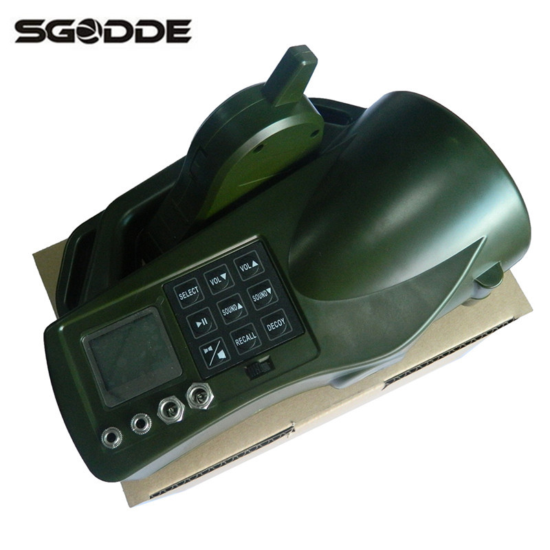 New Arrival Hunting Device Electronic Game Caller With 35W Loud Speaker Hunting Shooting Decoys Wireless Remote Control Plastic 2 receivers 60 buzzers wireless restaurant buzzer caller table call calling button waiter pager system