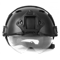 Protective Tactical Helmet Military Crashworthy Paintball Head Protector For CS Airsoft Paintball Game 3 Colors 2017