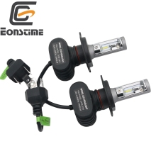 Eonstime 2Pcs 9005 HB3 H8 H11 H4 H7 Led H1 Auto Car Headlight S1 50W 8000LM
