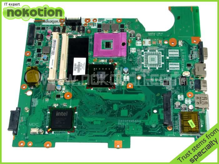 NOKOTION 577997-001 DA00P6MB6D0 FOR HP G61 SERIES LAPTOP MOTHERBOARD GL40 DDR2 mainboard free shipping