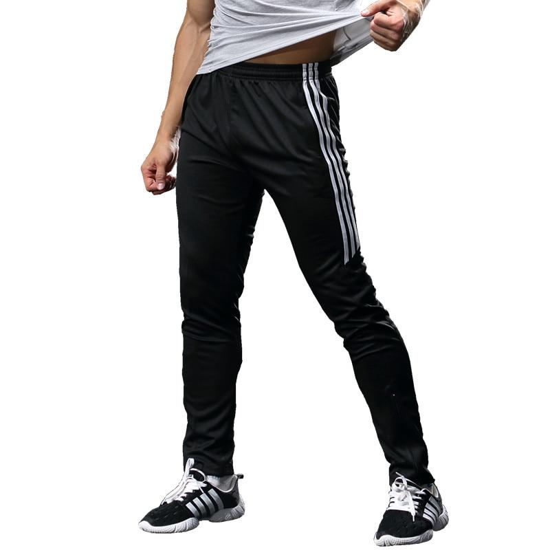 Pantalones Deporte Chandal Skinny Football Pants Soccer Pants Training Men Sport Pants Active Trousers Running Pants Joggers