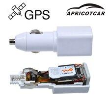 APRICOTCAR мини gps трекер в реальном времени GSM GPRS слежение за автомобилем Автомобильное оборудование USB Автомобильное зарядное устройство Путешествия Портативный позиционер