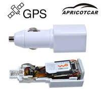 APRICOTCAR Mini traqueur GPS en temps réel GSM GPRS véhicule suivi automobile équipement USB chargeur de voiture voyage positionneur Portable