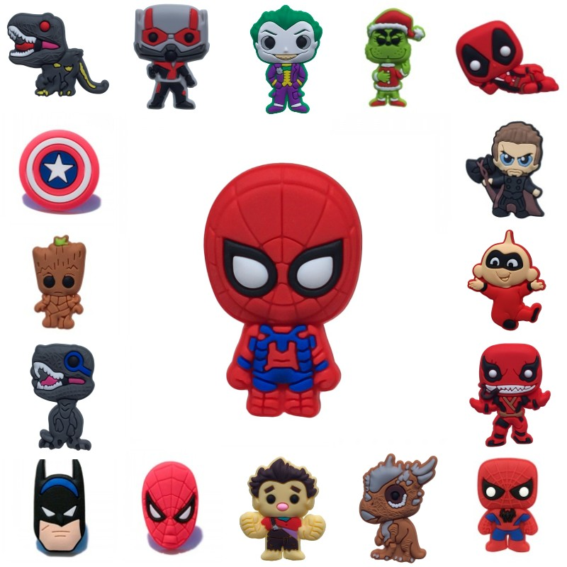 8pcs Cartoon Deadpool Avenger Venom Blackboard Magnets Fridge Magnets For Decor Magnetic Stickers Kids DIY Toys Party Gift
