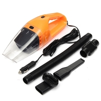 1 Set 120W Handheld Wet Dry Car Auto Vacuum Cleaner Portable Chargeable Home 12V Color Random