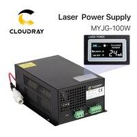Cloudray 80 100 Вт CO2 лазерной Питание для CO2 лазерной гравировки, резки MYJG 100W категории