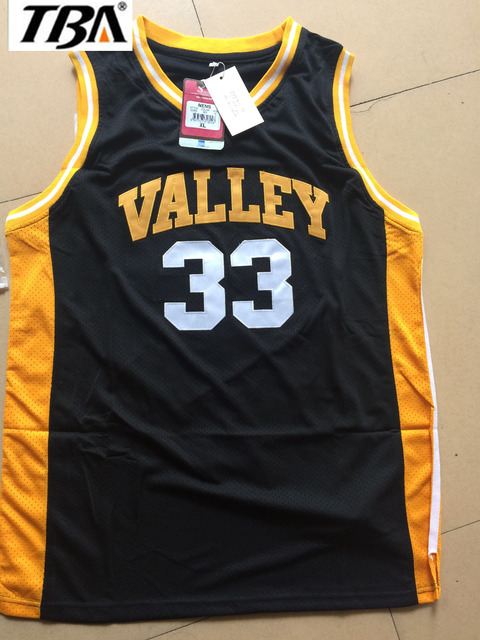 New Throwback Cheap Embroidery High School Basketball Jerseys Black