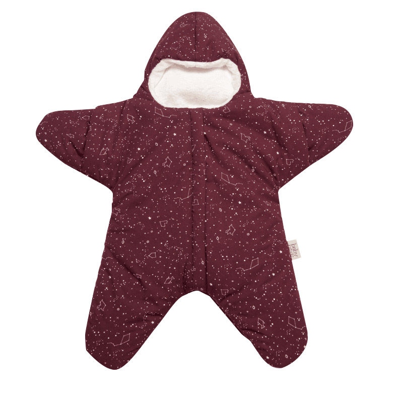 Baby Sleeping bag Star Shape Soft Warm Windproof Multi Function Outdoor Baby Wrap Flannel inner 0 2 Years Infant Bedding Bag