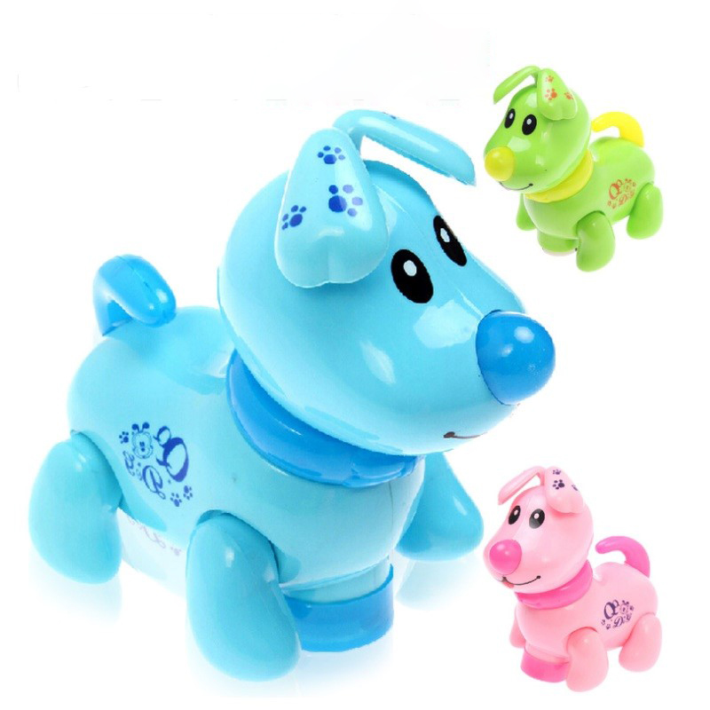 Interactive Dog Learning Amusement Electronic Dog Toy Interactive Educational ABS Preschool Dog Robot Toy