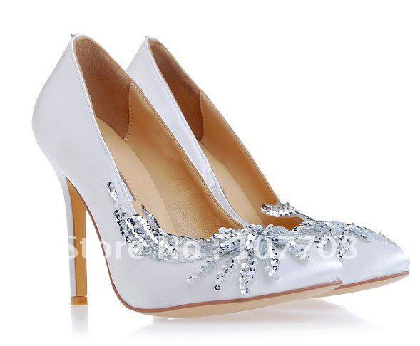 6c932bade37eb Free Shipping !2012 new Bella Twilight Breaking Dawn Wedding Shoes Women  silk high heels cinderella princess prom pumps sheos