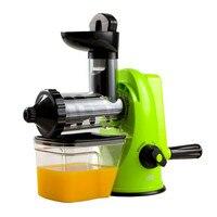 Free Shipping Household Environmentally Manual Juicer Healthy Juicer Slow Juicer Wheatgrass Juicer Wholesale