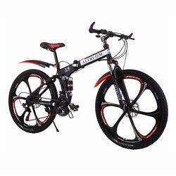 Vendita calda Altruism Mountain Bike 26-Pollici In Acciaio 21-Velocità Biciclette X9 Doppio Freni A Disco Su Strada A Velocità Variabile bike Bicicletta Da Corsa
