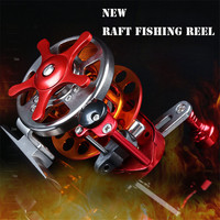 All Matel Fly Raft Fishing Reel Speed Ratio 3 1 Fishing Reel Bearings 4 1BB Saltwater