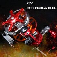 All Matel Fly Raft Fishing Reel Speed Ratio 3 1 Fishing Reel Bearings 4 1BB Saltwater