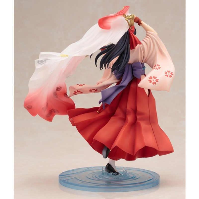 Flor de Cerejeira Sakura Shinguuji Guerra estátua ARTFX J 1/8 Sexy Beautiful Girl Especial Edição Coleção Action Figure Modelo Brinquedos