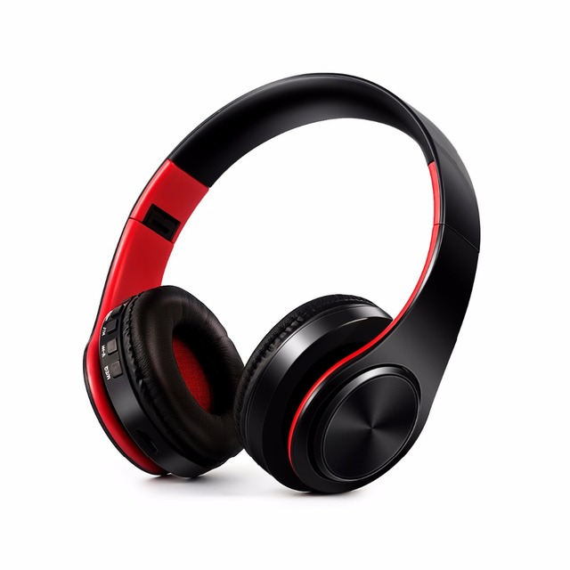 Free shipping Wireless Bluetooth headphone stereo headset music headset support SD card with mic for mobile ipad iphone sumsamg