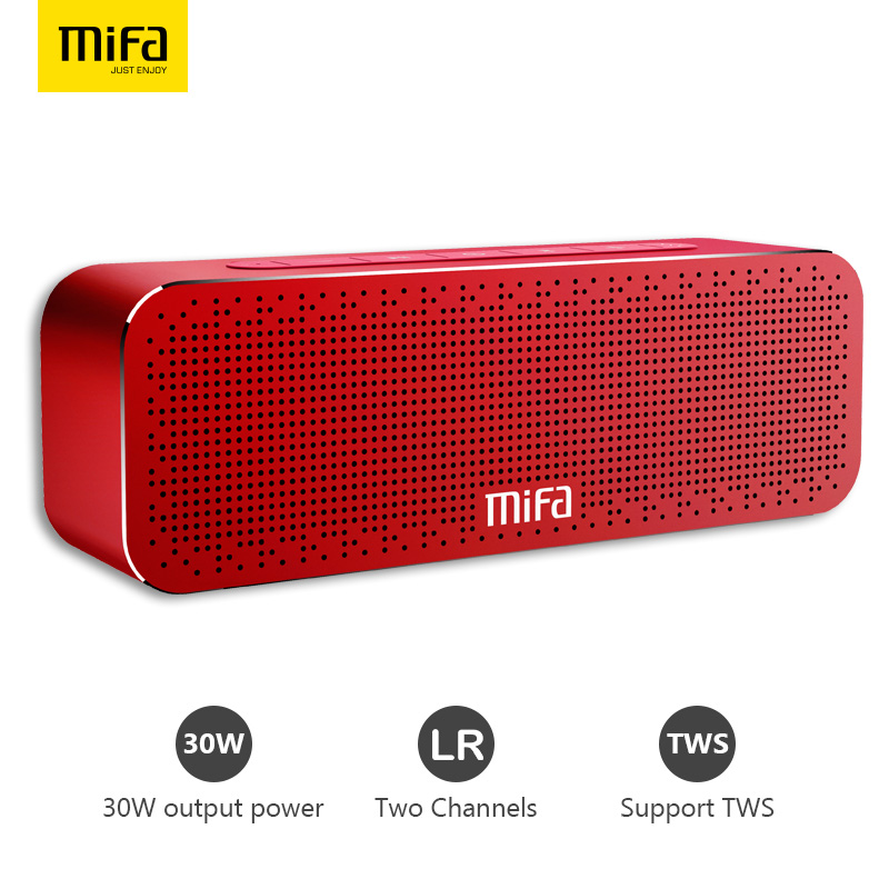 MIFA A20 Portable Bluetooth Speaker Wireless Stereo Sound Boombox Speakers With Super Bass Support TF AUX TWS Bluetooth Speaker