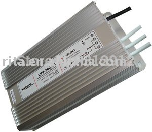 12 V / 20A / 250 W alimentation étanche à l'eau ; AC110 / 220 V entrée ; CE approuvé